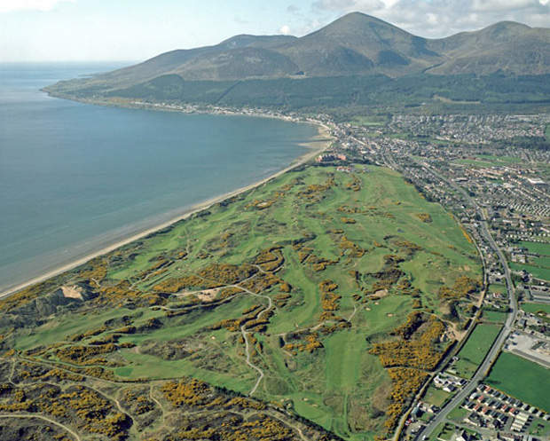 Źródło Royal County Down Golf Club